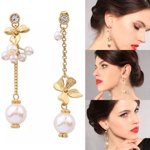 Not So Ordinary Pearls Earrings